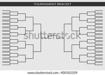 Basketball Tournament Bracket - Download Free Vector Art, Stock