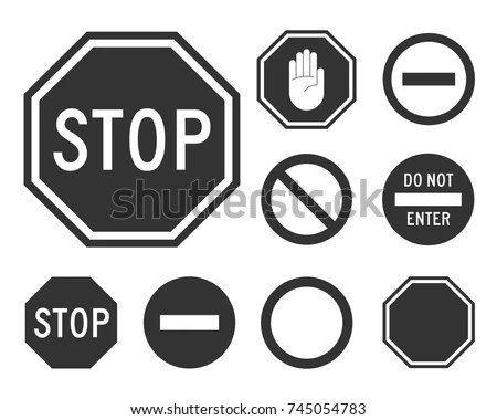 Vector Signal Sign Icon - Download Free Vector Art, Stock Graphics