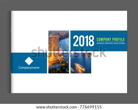 Company Profile Template Vectors - Download Free Vector Art, Stock
