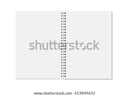 Notebook Vectors - Download Free Vector Art, Stock Graphics  Images - diary paper template
