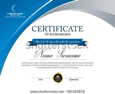 50+ Certificate Template Vectors Download Free Vector Art - certificate layout