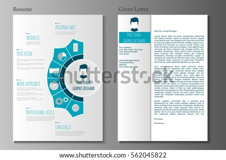 Simple corporate resume - Download Free Vector Art, Stock Graphics