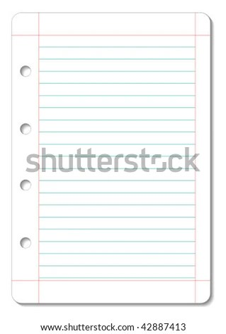 Lined Paper Layout - miazga - can you print on lined paper