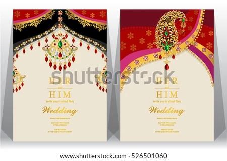 Indian Wedding Card Background - Download Free Vector Art, Stock - wedding card designing
