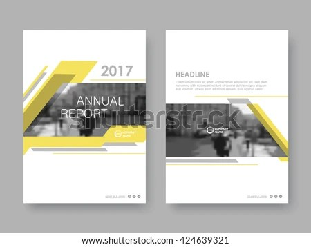 modern magazine cover page design in size A4 - Download Free Vector