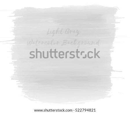 Vector Grey Watercolor Background - Download Free Vector Art, Stock