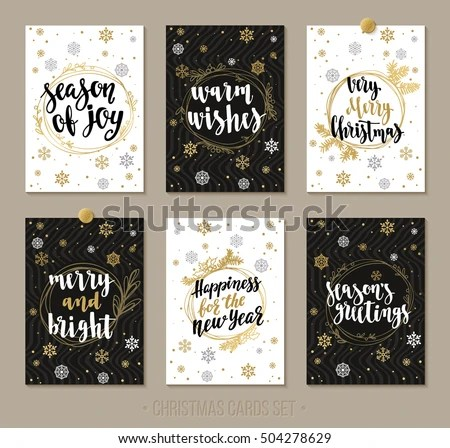 Christmas Card Vector - Download Free Vector Art, Stock Graphics - christmas cards black and white