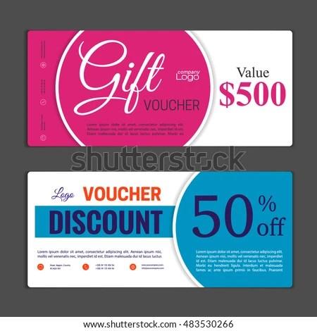 50+ Discount Coupon Templates Vectors Download Free Vector Art
