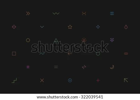 dark background with simple wave - Download Free Vector Art, Stock