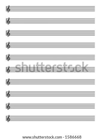 Manuscript Paper EZ Canvas