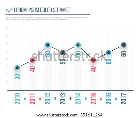 Financial Graph - Download Free Vector Art, Stock Graphics  Images - line graphs template