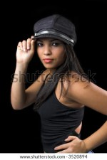 Cool Girl With Hat Stock Shutterstock