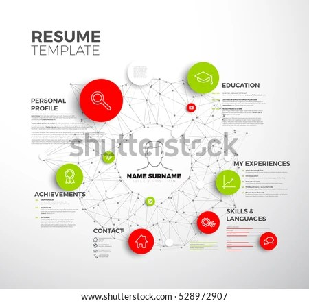 Curriculum Vitae Layout Templates - Download Free Vector Art, Stock