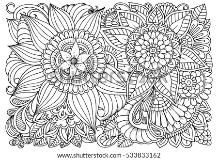 Free Coloring Pages For Adults - Download Free Vector Art, Stock