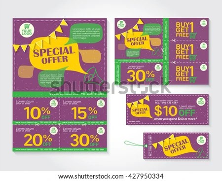 orange voucher for sale and business promotion - Download Free
