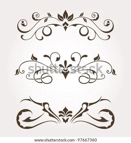 Calligraphic Logo Templates Vector Free Download free calligraphy - calligraphy designs templates