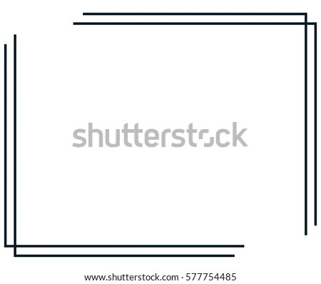 Borders Line Vectors - Download Free Vector Art, Stock Graphics  Images