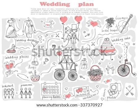 Wedding Planner Icon - Download Free Vector Art, Stock Graphics - wedding plan