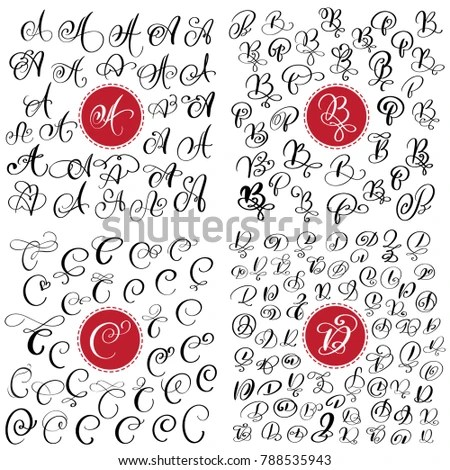 3D Fonts Hand Drawn - Download Free Vector Art, Stock Graphics  Images