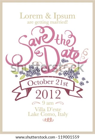 save date invitation templates - save the date birthday template