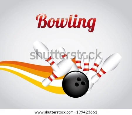Bowling Background Vector - Download Free Vector Art, Stock Graphics