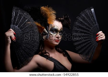 rubber masked women