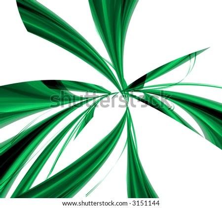 green waves background EZ Canvas