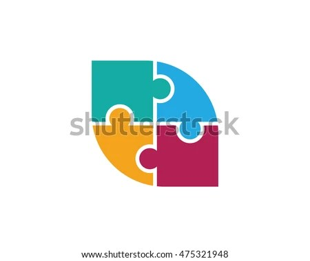 Puzzle Logo - Download Free Vector Art, Stock Graphics  Images