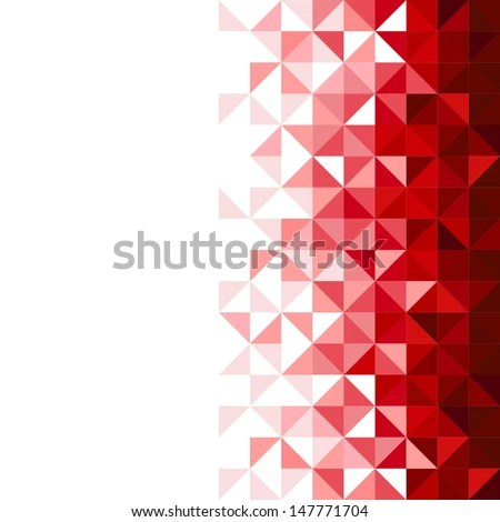 3d Wallpaper Free Download African Grey Abstract Geometric Background Triangle And Square Red