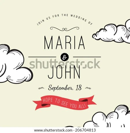 Free Vector Save The Date Hot Air Balloon - Download Free Vector Art - Save The Date Wedding Templates