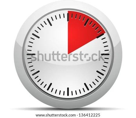 10 Minutes Timer Stock Illustration - Royalty Free Stock