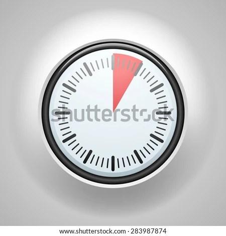 5 Minutes 1 Hour Timer Stock Illustration 283987874 - Shutterstock