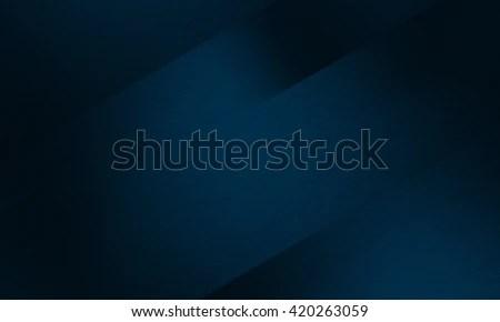 Abstract Dark Blue Black Background Design Stock Illustration