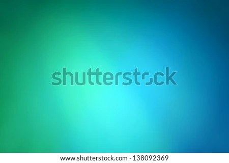 Abstract Gradient Background Blue Green Colors Stock Illustration