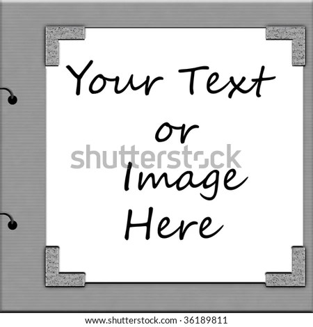 Album Cover Template Stock Illustration 36189811 - Shutterstock