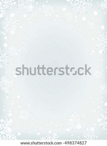 Royalty Free Stock Illustration of Blank Winter Background Snow