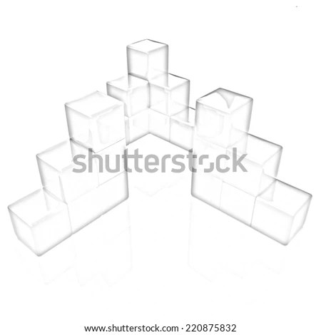 Block Diagram Pencil Drawing Stock Illustration - Royalty Free Stock