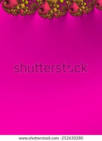 Bright Magenta Wedding Invitation Background Colorful Stock