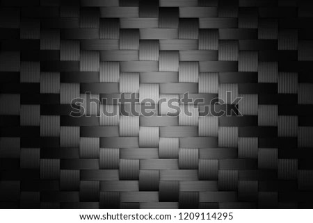 Carbon Fiber Background Composite Smooth Carbon Stock Illustration