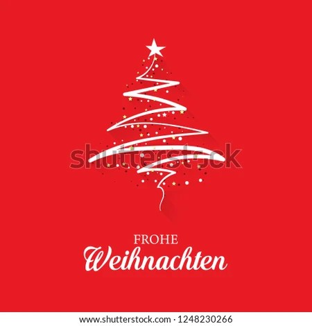 Christmas Greeting Card Concept Words Merry Stock Illustration