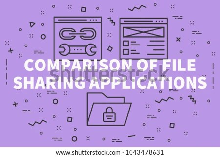 Royalty Free Stock Illustration of Conceptual Business Illustration