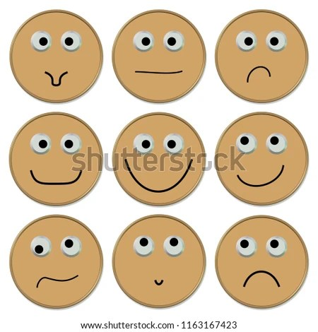 Emojis Good Bad Mood Stock Illustration 1163167423 - Shutterstock