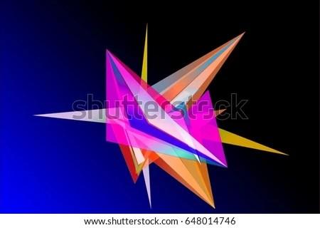 Facet Design Stock Illustration 648014746 - Shutterstock