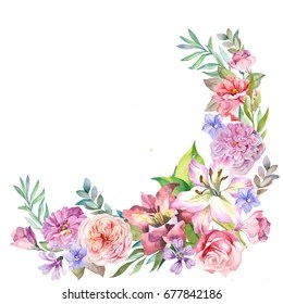 Cute Pattern Background Wallpaper Flower Corner Images Stock Photos Amp Vectors Shutterstock