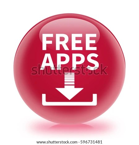 Free Apps Icon Internet Button 3 D Stock Illustration 596731481 - apps symbol