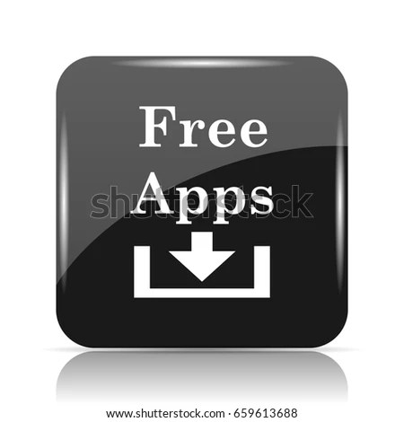 Free Apps Icon Internet Button On Stock Illustration - Royalty Free