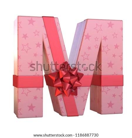 Gift Box Red Ribbon Bow 3 D Stock Illustration 1186887730 - Shutterstock