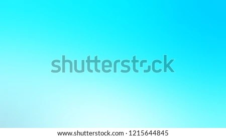 Gradient Baby Blue Color Awesome Simple Stock Illustration