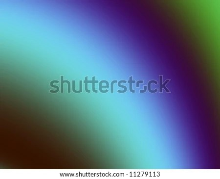 Graduated Background Green Blue Purple Stock Illustration 11279113