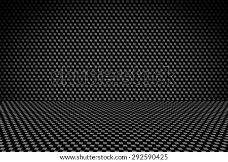 Interior Background Carbon Fiber Texture Stock Illustration